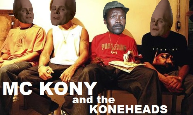 MC Kony and the Koneheads' upcoming album - 'We ain't kidding around Vol. 4' - will soon be available from all good retailers